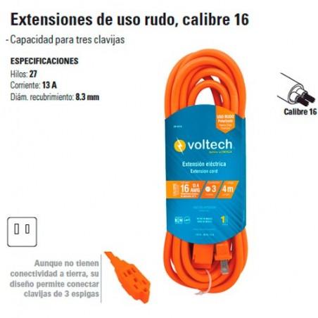 Extension de Uso Rudo Calibre 16