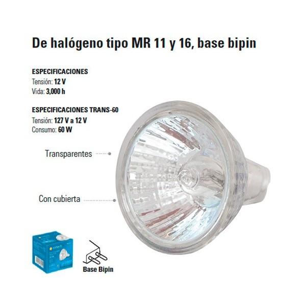 Focos de Halogeno tipo MR 11 y 16