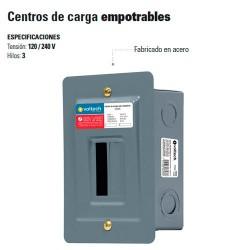 Centro de Carga Empotrable