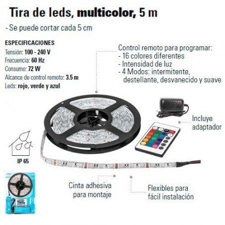 Tira de Led Multicolor