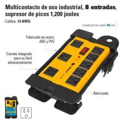 Multicontacto de Uso Industrial 8 Entradas
