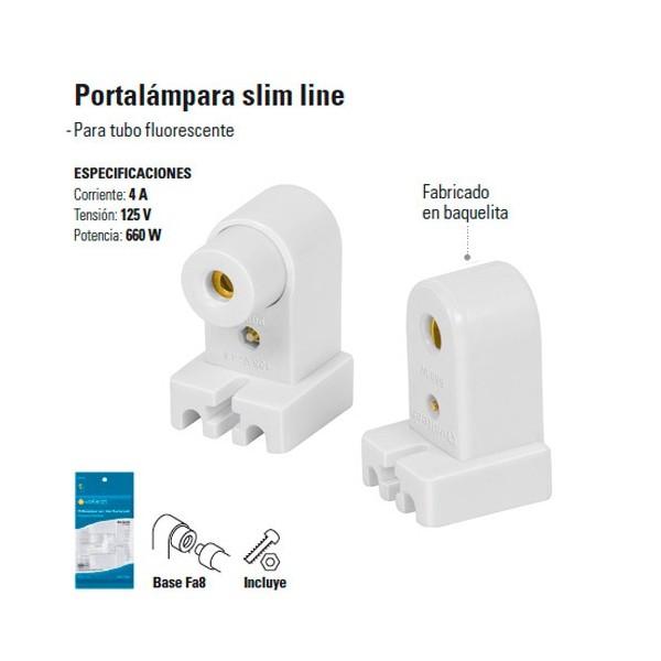 Portalampara Slim Line