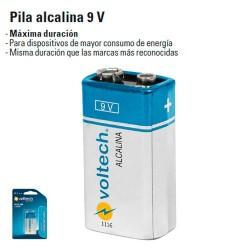 Pila Alcalina 9V