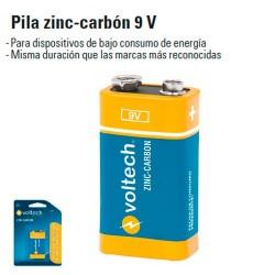 Pila Zinc-Carbon 9V