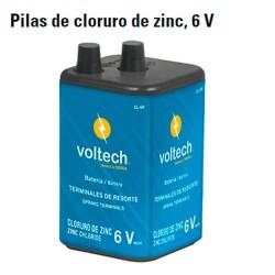 Pila de Cloruro de Zinc 6 V