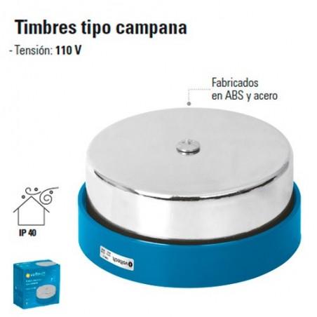 """Timbres Tipo Campana 2 3/4"""", 4"""" y 6"""""""