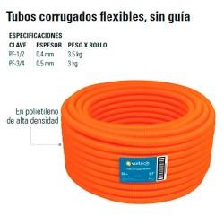 Tubo Corrugado Flexible sin Guia