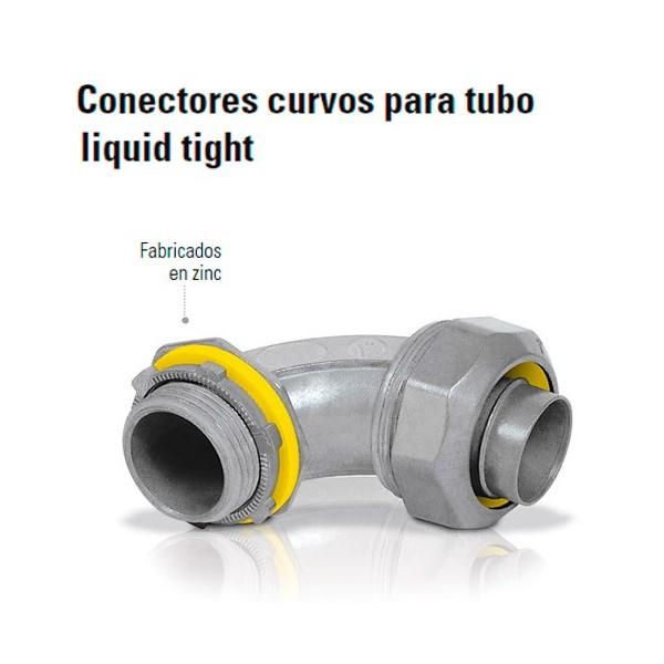 Conector Curvo Para Tubo Liquid Tight