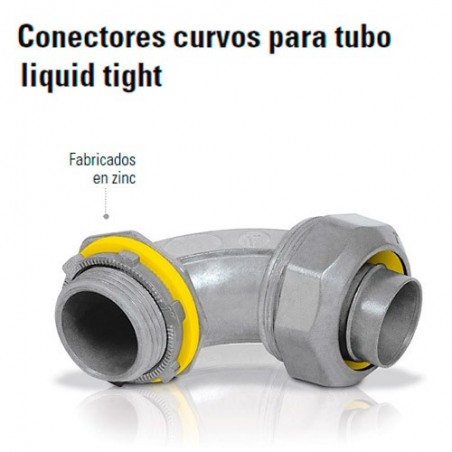 Conector Curvo Para Tubo Liquid Tight