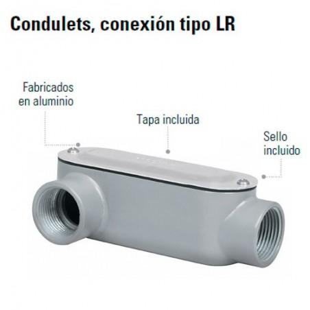 Condulets Conexion Tipo LR
