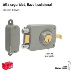 Cerradura Alta seguridad Doble Cerrojo