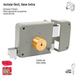 Cerradura Instala-Facil Llave Tetra
