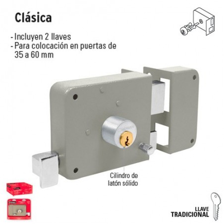Cerradura Clasica