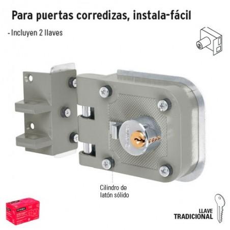 Cerradura de Doble Cilindro Instala-Facil