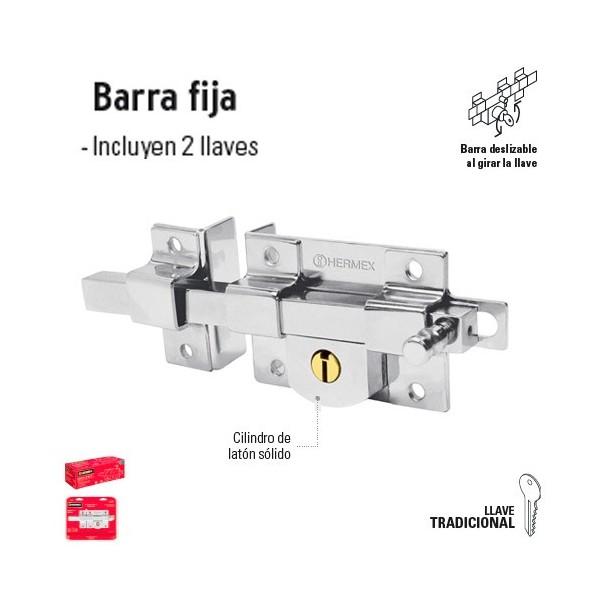 Cerradura de Barra Fija