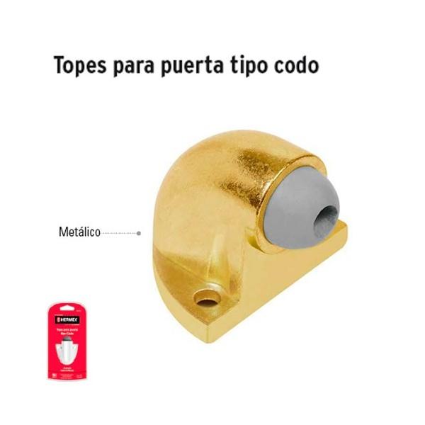 Tope para Puerta Tipo Codo