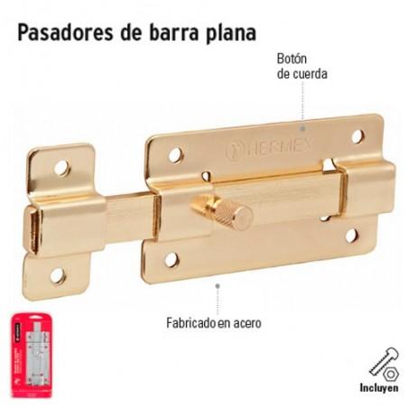 Pasadores de Barra Plana