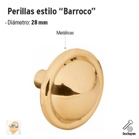"Perilla Estilo ""Barroco"""
