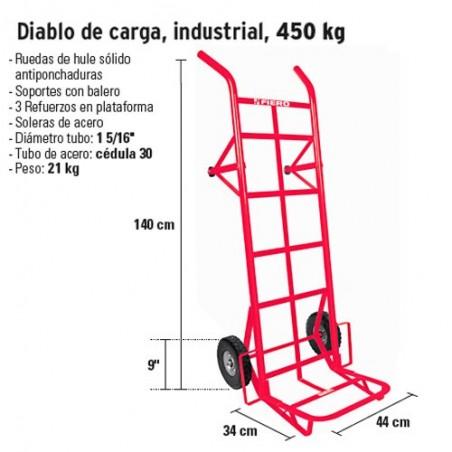 Diablo de Carga Industrial 450 kg