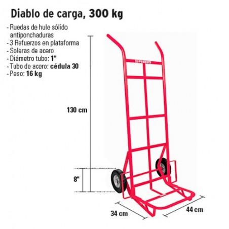 Diablo de Carga 300 kg