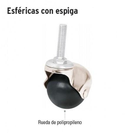Llanta Esferica con Espiga