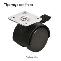 Llanta Tipo Yoyo con Freno