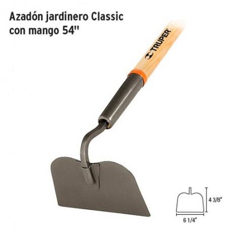 """Azadon Jardinero Classic con Mango 54"""" TRUPER"""