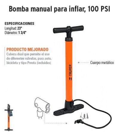 Bomba Manual para Inflar TRUPER