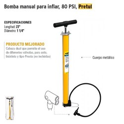 Bomba Manual para Inflar PRETUL