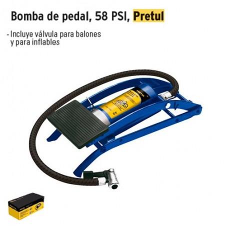 Bomba de Pedal 1 Piston PRETUL