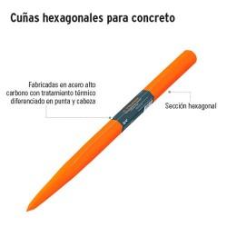 Cuñas Hexagonales para Concreto TRUPER