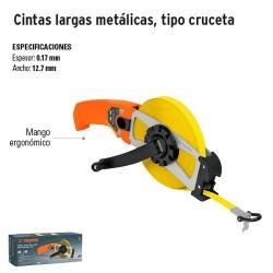 Cinta Larga Metalica Tipo Cruceta TRUPER