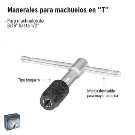 """Manerales para Machuelos en """"T"""" TRUPER"""