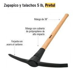 Zapapico 5 lb PRETUL
