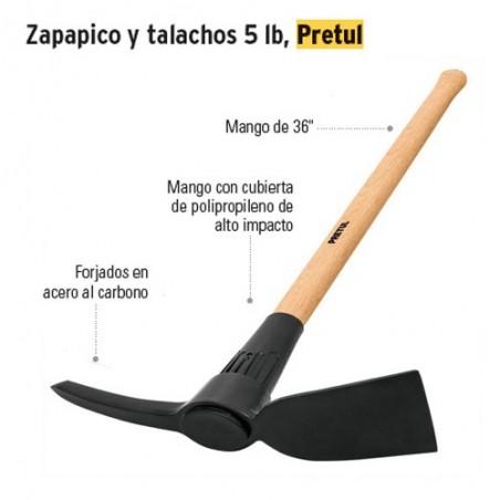 Talacho-Pico 5 lb PRETUL