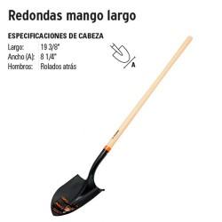 Pala Redonda Mango Largo