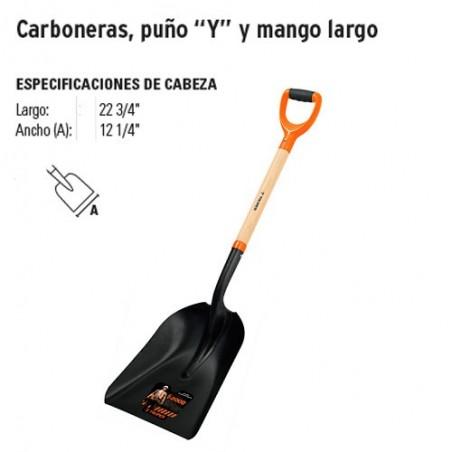 """Pala Carbonera Puño """"Y"""""""