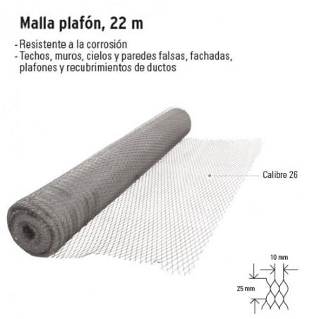 Malla Plafon 22 m FIERO