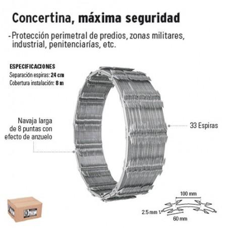 Concertina Maxima Seguridad FIERO