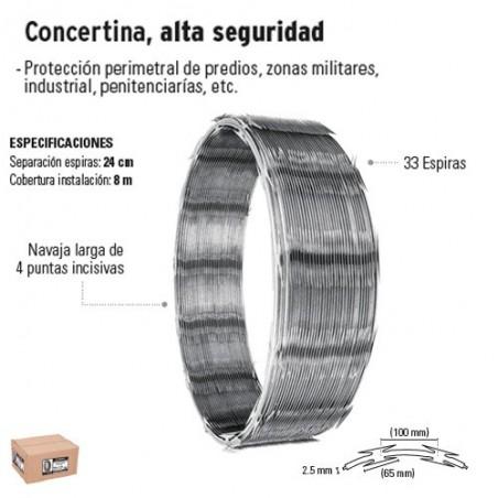 Concertina Alta Seguridad FIERO