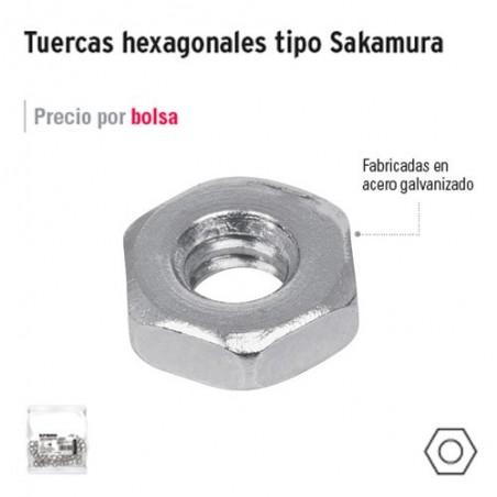 Tuerca Hexagonal Tipo Sakamura FIERO