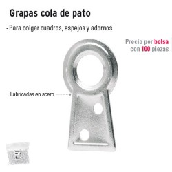 Grapas Cola de Pato FIERO