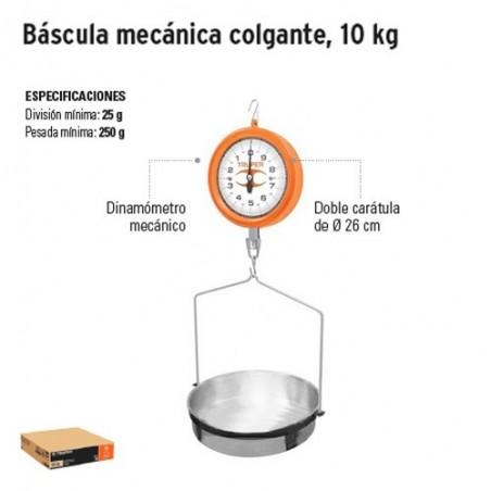 Bascula Mecanica Colgante 10 Kg TRUPER