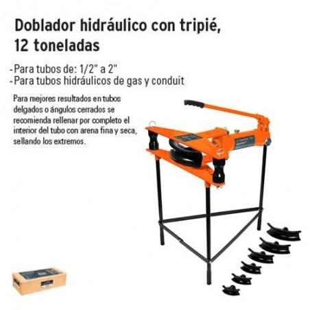 Doblador Hidraulico con Tripie 12 Toneladas TRUPER
