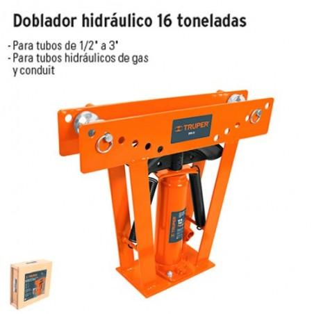 Doblador Hidraulico 12 y 16 Toneladas TRUPER