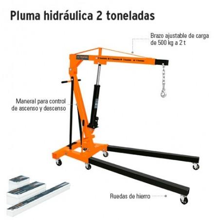 Pluma Hidraulica 2 Toneladas TRUPER