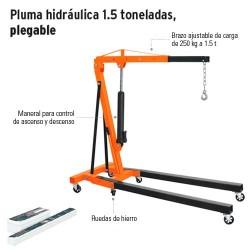 Pluma Hidraulica 1.5 Toneladas Plegable TRUPER