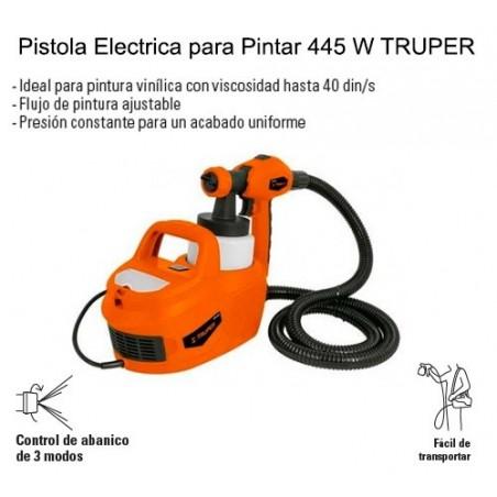 Pistola Electrica para Pintar 445 W TRUPER