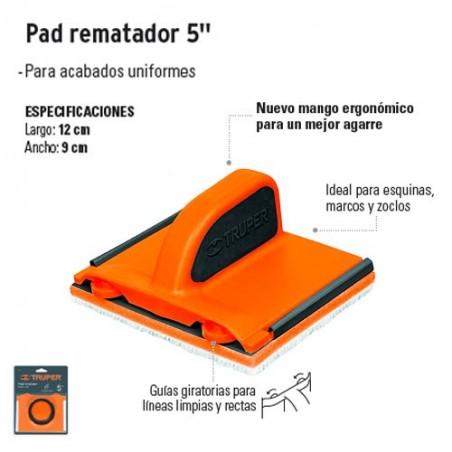 """Pad Rematador 5 """" TRUPER"""