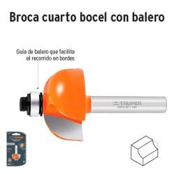 Broca para Router Cuarto Bocel con Balero TRUPER